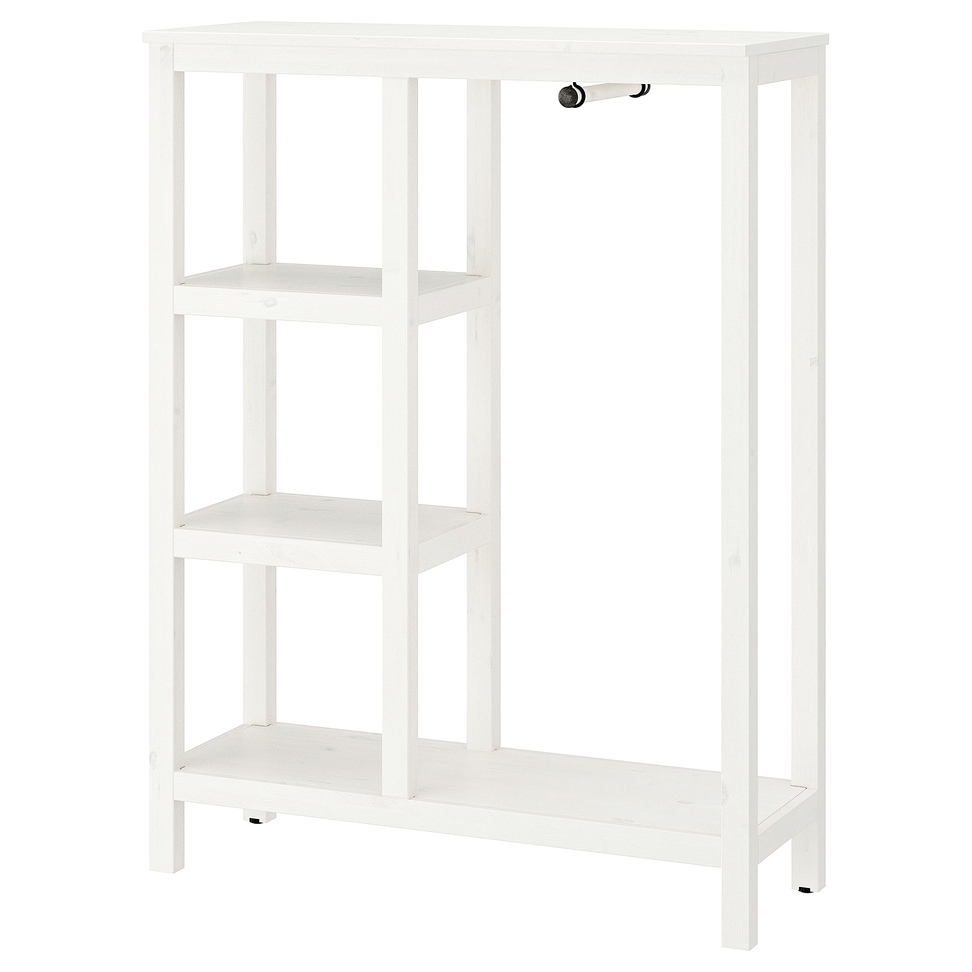 Guardaroba Hemnes Ikea.Open Wardrobe Hemnes White Stained