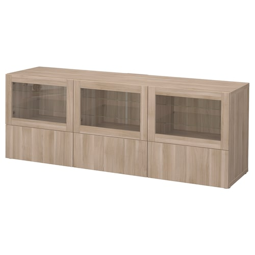 IKEA BESTÅ TV unit with doors and drawers