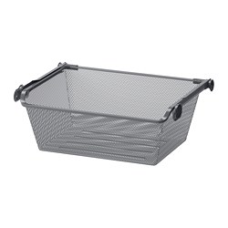 KOMPLEMENT Mesh basket with pull-out rail
