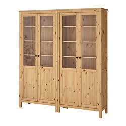 HEMNES Storage Combination W Glass Doors