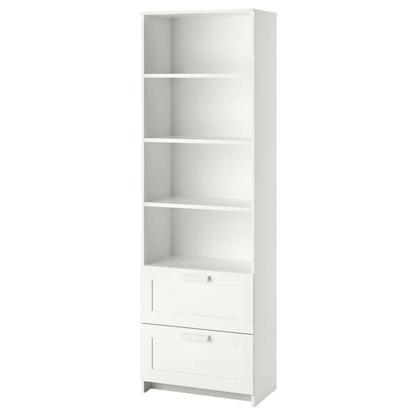 new product 3452c ca412 Bookcase BRIMNES white