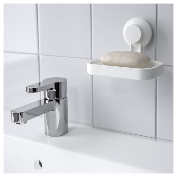 IKEA TISKEN Soap dish with suction cup