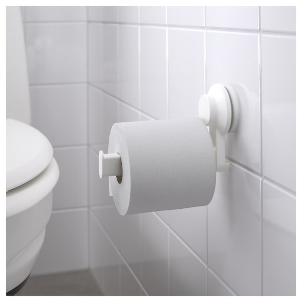 IKEA TISKEN Toilet roll holder with suction cup