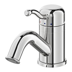 LILLSVAN bath faucet with strainer, chrome plated