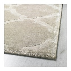 gray and white rug. HILLESTED Rug, Low Pile, Gray/white Gray And White Rug T