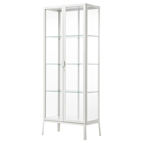 IKEA MILSBO Glass-door cabinet