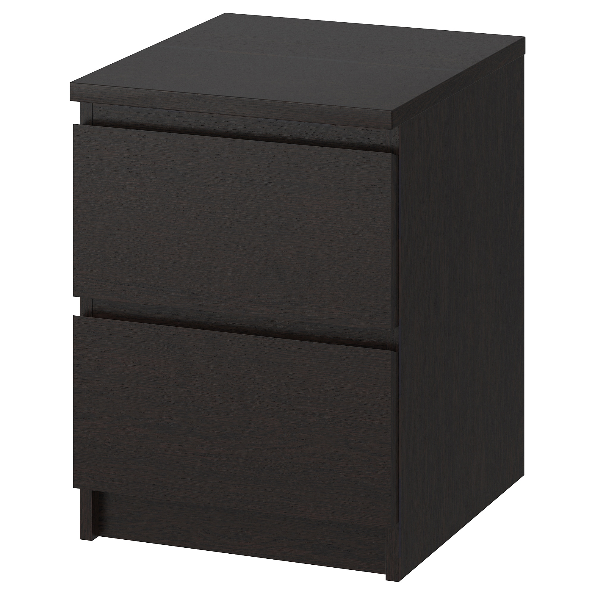 Ikea Malm Black Brown Part - 14: IKEA MALM Chest of 2 drawers