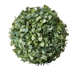 FEJKA artificial plant, in/outdoor, Box ball shaped