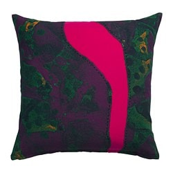 ANNANSTANS cushion cover, handmade purple, pink