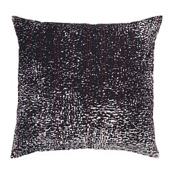 ANNANSTANS cushion cover, handmade black, green