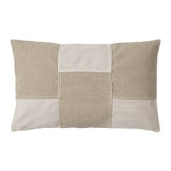 FESTHOLMEN cushion cover, indoor/outdoor, light beige beige