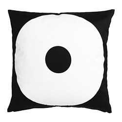 SIPPRUTA cushion cover, black