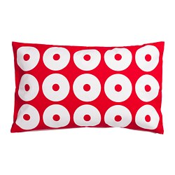 SIPPRUTA cushion cover, red