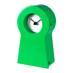 IKEA PS 1995 clock, green
