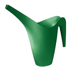 IKEA PS VÅLLÖ watering can, bright green