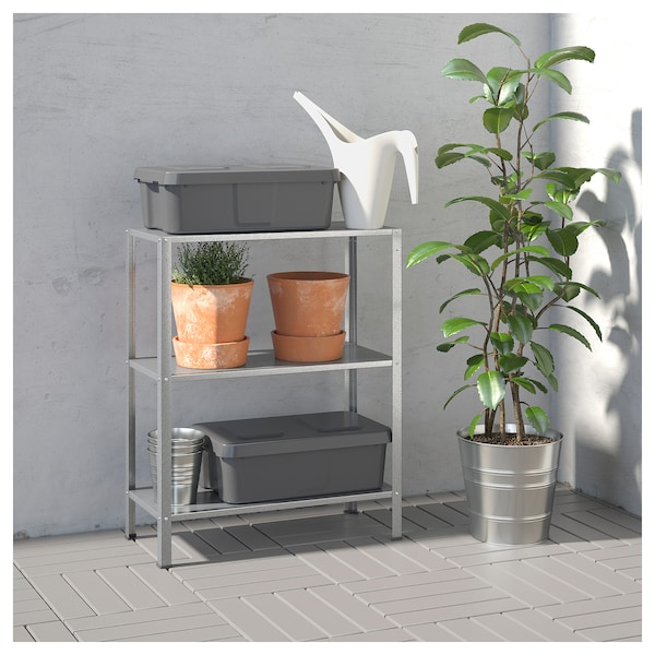 finest selection 198da f8bf3 HYLLIS Shelf unit, indoor/outdoor