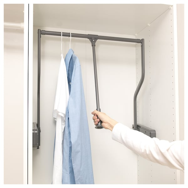 Ikea Komplement Pull Down Clothes Rail Extendable