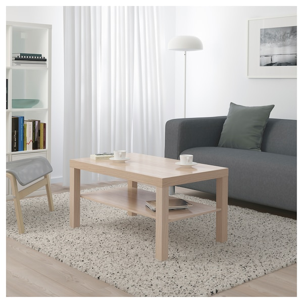 Ikea Canada White Coffee Table: White Stained Oak Effect