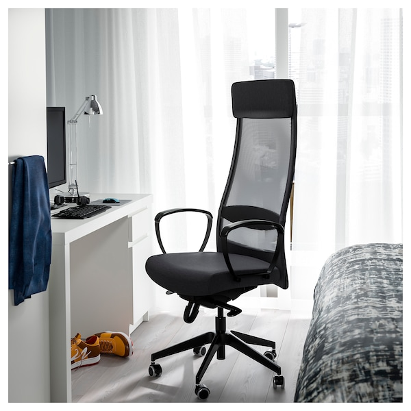 Incredible Markus Office Chair Vissle Dark Gray Best Image Libraries Counlowcountryjoecom