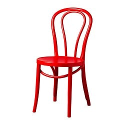BJURÅN chair, dark red