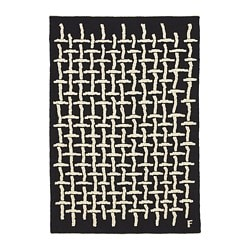 IKEA ART EVENT 2019 rug, flatwoven, black, white