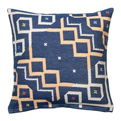 ÖVERALLT cushion cover, blue