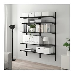ALGOT 2 section shelving unit