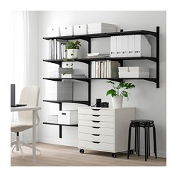 ALGOT 3 section shelving unit