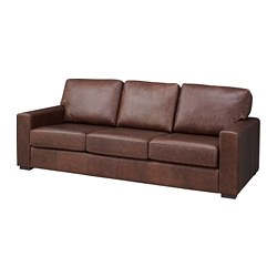 Genevad Sofa Garlinge Dark Brown