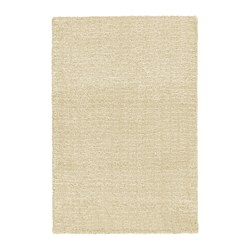 LANGSTED rug, low pile, beige