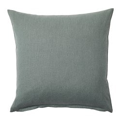 VIGDIS cushion cover, pale green