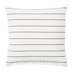 KONSTANSE cushion, white, dark grey