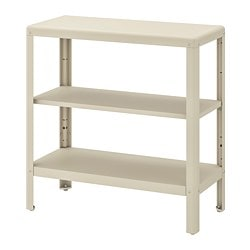 KOLBJÖRN shelving unit in/outdoor, beige