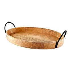 UTVÄNDIG decorative tray, natural