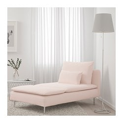 SODERHAMN Chaise Samsta Light Pink