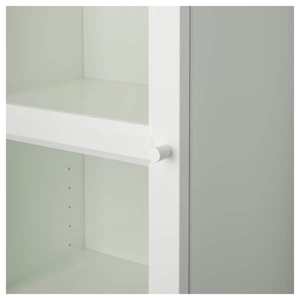IKEA BILLY / OXBERG Bookcase with glass-door