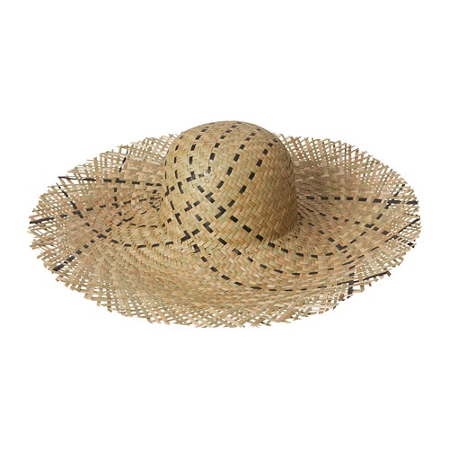 DYNKOBB Straw hat, seagrass