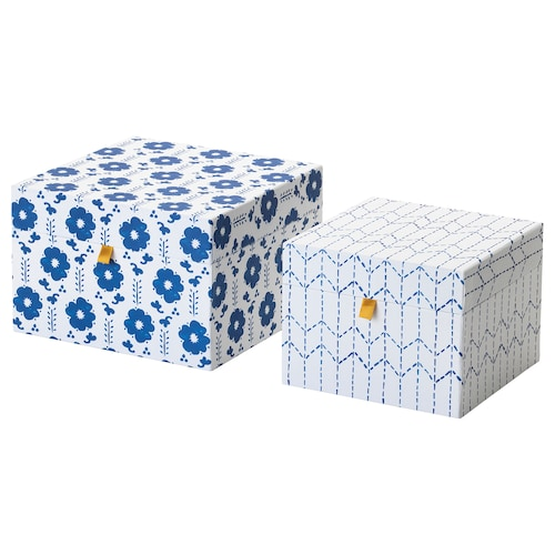 IKEA ANILINARE Decorative box, set of 2