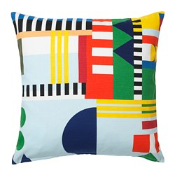 ÖVERALLT cushion cover, multicolor