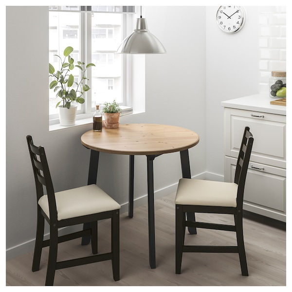 Gamlared Lerhamn Table And 2 Chairs Light Antique