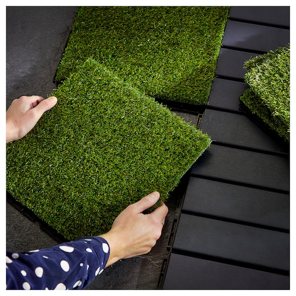 RUNNEN Floor decking, outdoor - artificial grass - IKEA