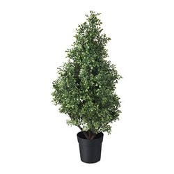 FEJKA artificial potted plant, indoor/outdoor box