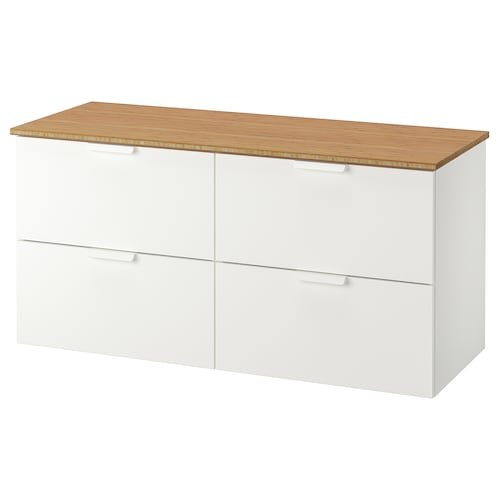 IKEA GODMORGON / TOLKEN Sink cabinet with 4 drawers