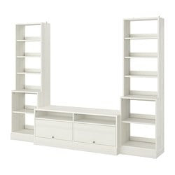 HAVSTA TV storage combination, white