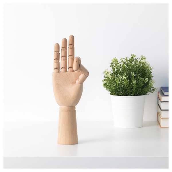 IKEA HANDSKALAD Decoration, hand