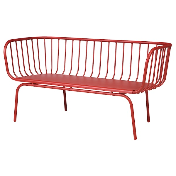 Sofa, outdoor BRUSEN red
