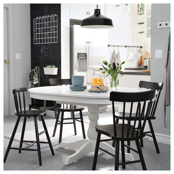 ingatorp bord med till gsplader hvid ikea. Black Bedroom Furniture Sets. Home Design Ideas