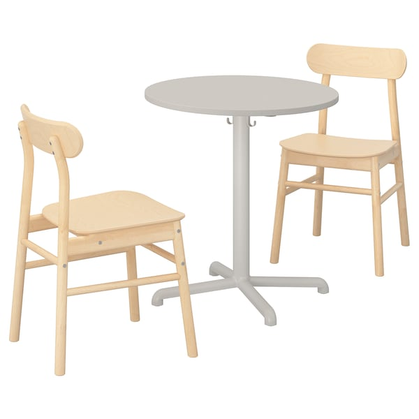 Stensele Rönninge Table And 2 Chairs Light Grey Light Grey