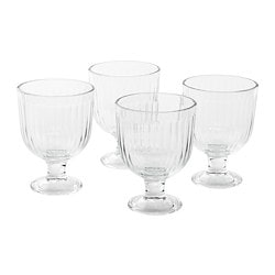 VARDAGEN goblet, clear glass