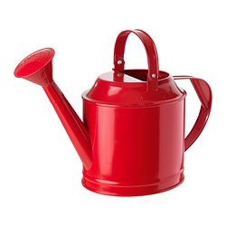 SOCKER watering can, in/outdoor, red